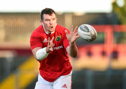 Munster's Peter O'Mahony Photo by Diarmuid Greene/Sportsfile