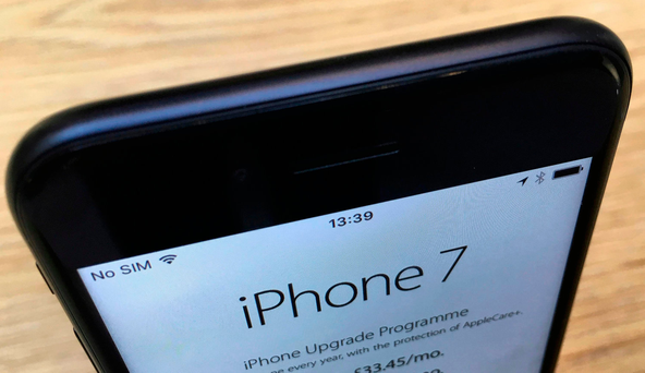 'Take Apple's new iPhone 7. Sure to be a favourite on Christmas lists this year, and with a price tag of €779 here, it's definitely one of the more expensive gifts' Photo: REUTERS / Stefan Wermuth