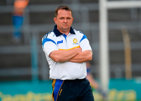 Clare manager Davy Fitzgerald Photo by Eóin Noonan/Sportsfile