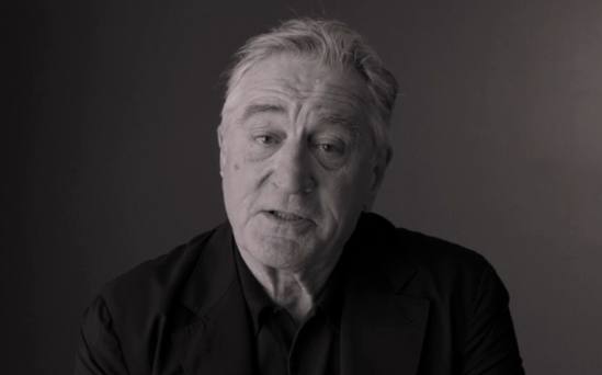 Video: Robert De Niro on Donald Trump:
