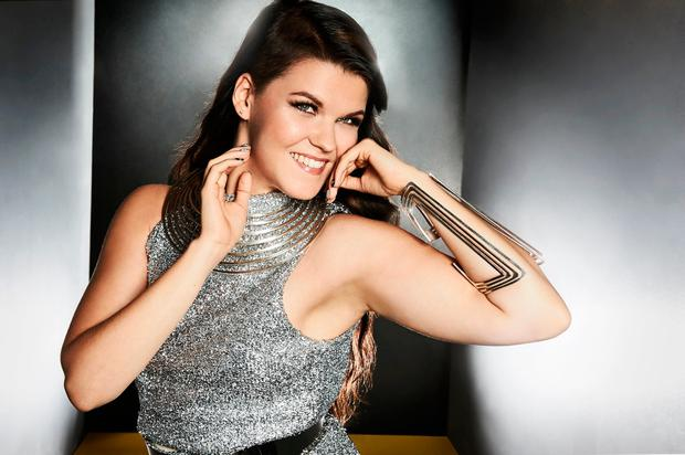 Saara Aalto who is through to the final 12 of of the ITV1 programme The X Factor. Photo: Syco/Thames/Burmiston/PA Wire