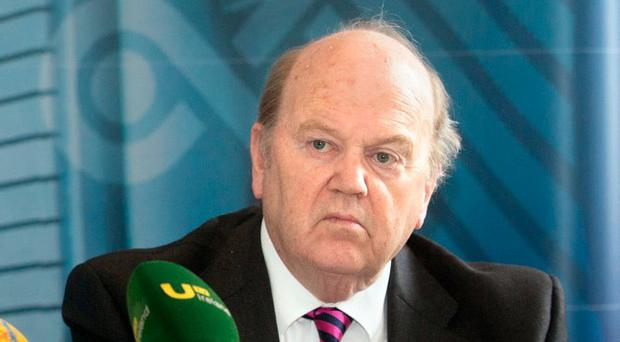 Minister for Finance Michael Noonan. Photo: Tony Gavin 13/7/2016