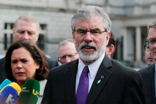 'Its policy is to introduce a new effective rate of tax of almost 60pc on income in excess of €100,000.' Pic: Collins