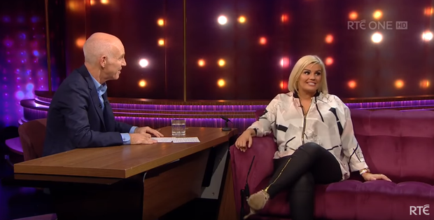 Kerry Katona told Ray D'Arcy she was at her lowest while married to former husband Mark Croft