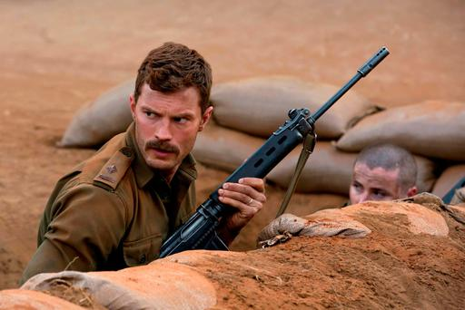 Jamie Dornan has been nominated for an IFTA for his role in the film 'The Siege of Jadotville' and the TV series The Fall