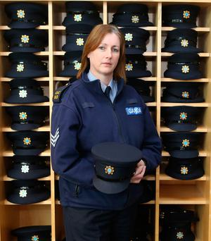 Sgt Antoinette Cunningham of the AGSI at the Garda College in Templemore. Photo: Liam Burke Picture Press 22