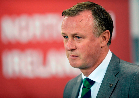 Michael O'Neill will make changes Photo by Oliver McVeigh/Sportsfile