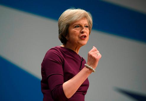 British PM Theresa May has set the date for Brexit. REUTERS/Toby Melville/File Photo