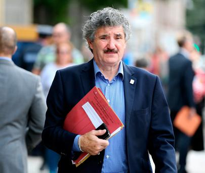 Junior minister and Independent TD for Waterford John Halligan. Photo: Tom Burke