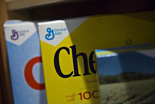 The company's brand names include Cheerio's, Old El Paso, Nature Valley, Betty Crocker, Pillsbury, as well as Yoplait and Haagen-Dazs, each with sales in excess of $1bn Picture: Bloomberg/Getty Images
