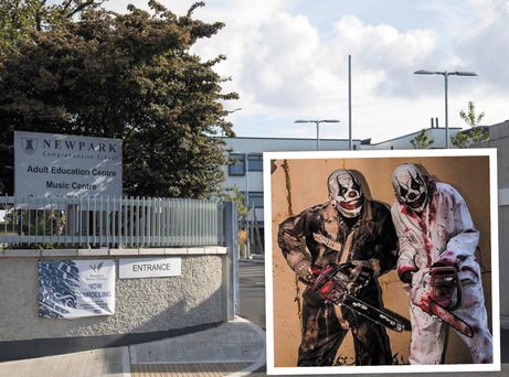 Newpark Comprehensive School in Blackrock has been urged to review security procedures after