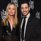 Laura Whitmore and Giovanni Pernice attend the press night after party for