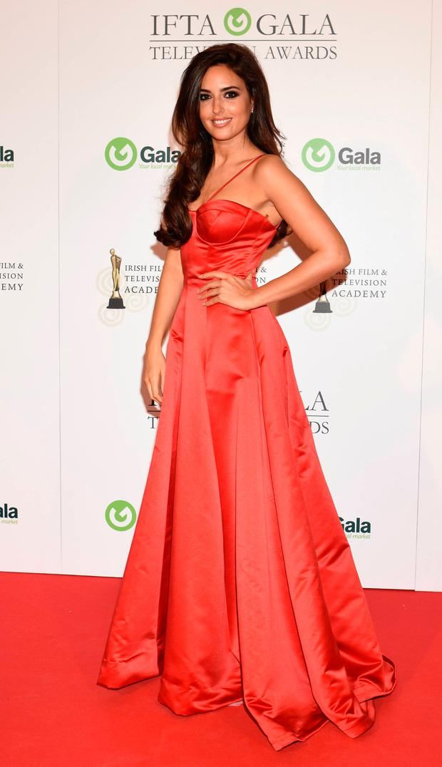 Nadia Forde at the IFTA Awards 2015