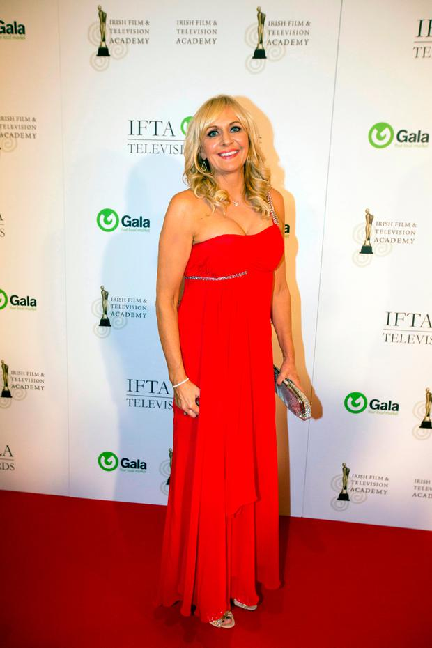 Miriam O'Callaghan at the IFTA gala television awards ceremony held at the DoubleTree Hilton, Dublin. Picture: Mark Condren