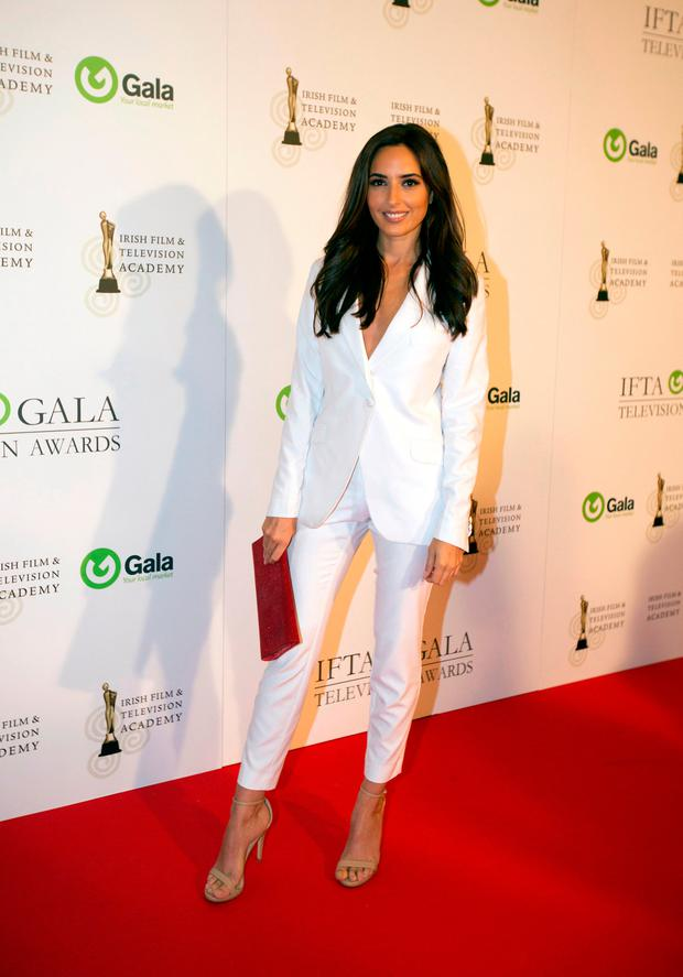 Nadia Forde at the IFTA gala television awards ceremony held at the DoubleTree Hilton, Dublin. Picture: Mark Condren