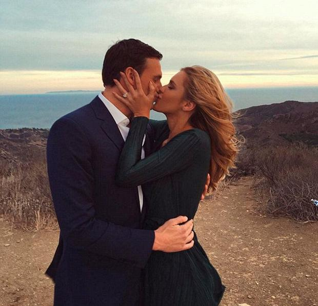 Ryan Lochte and Kayla Rae Reid are engaged. Picture: Instagram