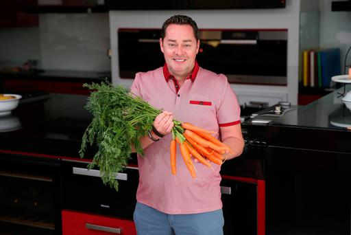 Chef Neven Maguire: 'I love my job, I love my life, I'm very lucky'. Photo: Fran Veale