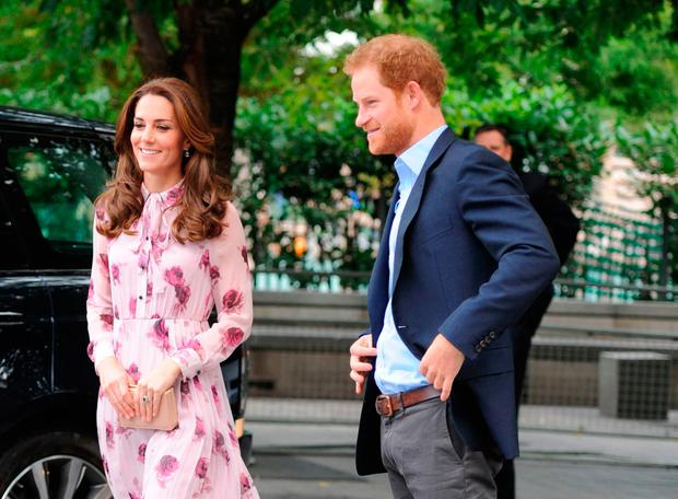 Kate Middleton and Prince Harry enjoy a close relationship.