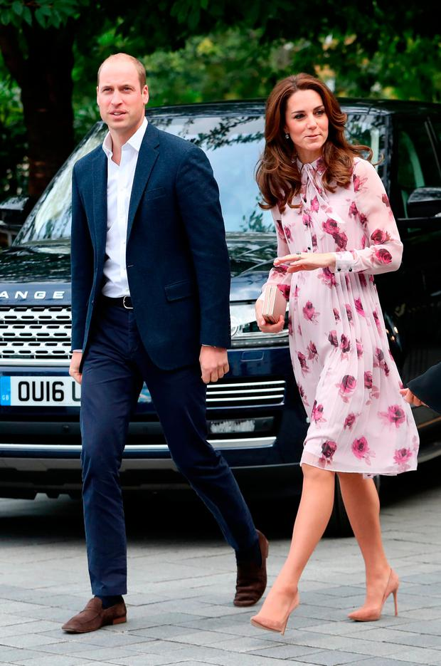 Prince William, Duke of Cambridge and Catherine, Duchess of Cambridge attend the World Mental Health Day celebration with Heads Together at the London Eye on October 10, 2016 in London, England. (Photo by Chris Jackson/Getty Images)