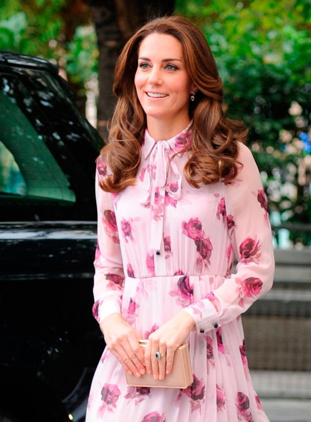 The Duchess of Cambridge arrives at County Hall on the Southbank in London, as they mark World Mental Health Day.