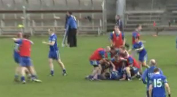 AGB celebrate their dramatic victory