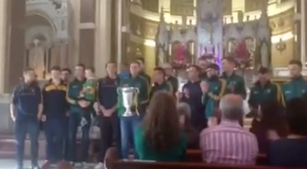 The Sean O'Mahony's squad at Mass