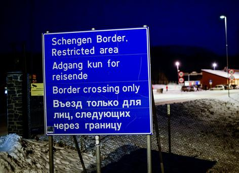 Ireland is not in the Schengen area, which allows for passport free travel among certain member states. Photo: JONATHAN NACKSTRAND/AFP/Getty Images