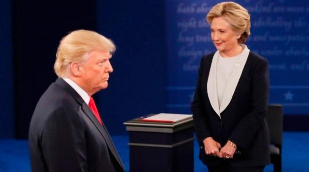 'The Trump tapes speak to a rushing undercurrent of misogyny in America. Yet Ms Clinton's exposure to the emails controversy, and her past behaviour in going on the offensive against her husband's accusers when he was president, suggest that she too has questions to answer' Photo: REUTERS/Shannon Stapleton