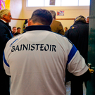 Davy Fitzgerald walks into the Wexford dressing room in July 2014 to congratulate them on their victory over Clare - next time he walks in, he will be their manager Photo: Ray McManus / SPORTSFILE
