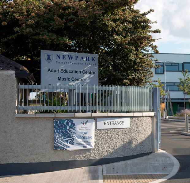 Newpark Comprehensive School, where the incident took place
