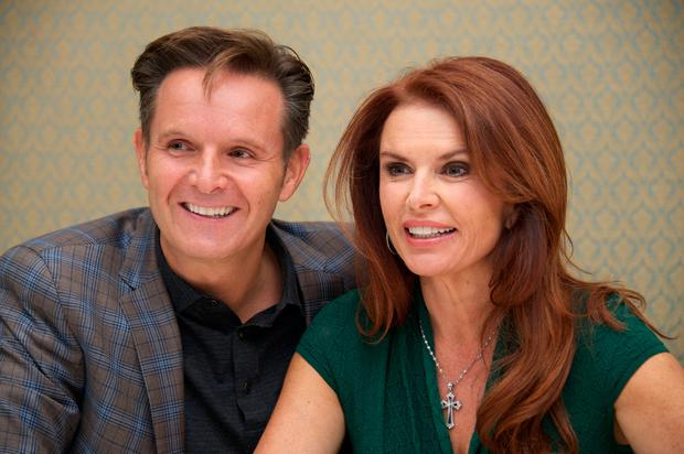 British producer Mark Burnett is married to Irish actress Roma Downey. Photo by Vera Anderson/WireImage