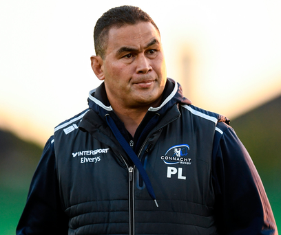 Coach Pat Lam wants Connacht to 'play as a team' when they face Toulouse on Saturday. Picture: Sportsfile