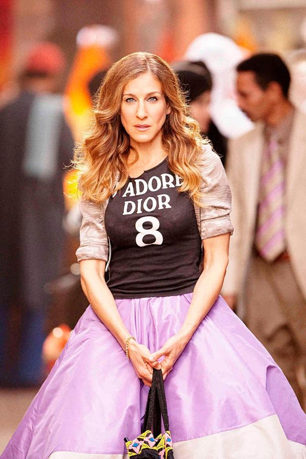 Breakthrough: SJP as Carrie Bradshaw in 'Sex And The City'