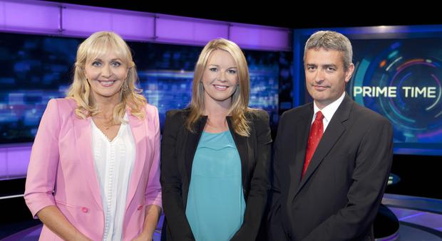 Miriam O'Callaghan, Claire Byrne and Daviud McCullagh