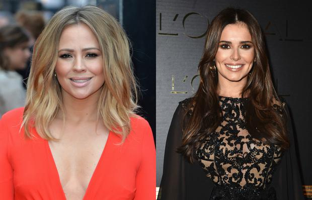 Kimberly Walsh and Cheryl.