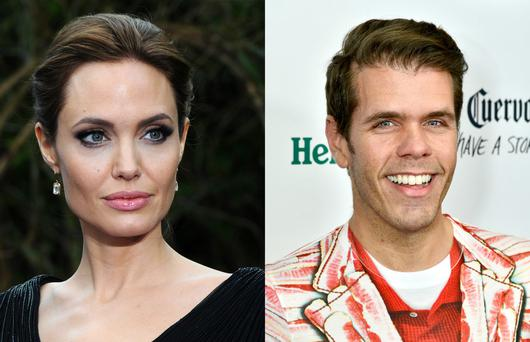 Angelina Jolie has reportedly threatened to sue Perez Hilton.