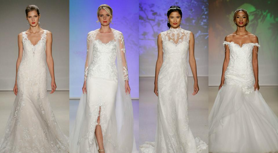 The Alfred Angelo Disney Princess-inspired collection. (Photo by JP Yim/Getty Images for Alfred Angelo)