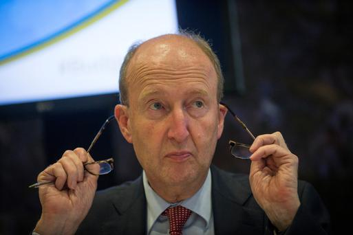 Minister for Transport, Tourism and Sport Shane Ross, speaking after the announcement of Budget 2017. Picture by Fergal Phillips