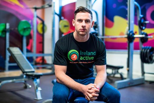 Dublin's Philly McMahon at the launch of the Ireland Active Conference and White Flag National Quality Awards. Photo Credit: ©INPHO/Dan Sheridan
