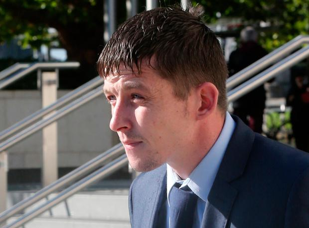 Graham Palmer pictured leaving the Central Criminal Court in Dublin. Pic Collins Courts.