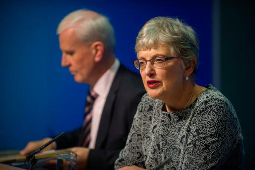 Dr. Katherine Zappone TD Minister for Childcare and Youth Affairs. Photo: Douglas O'Connor.