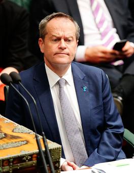 "Shorten: ""This country does not have the right in a plebiscite to pass judgment on the marriages and relationships of some of our fellow Australians. It is not what Australia is about."" Photo by Stefan Postles/Getty Images"