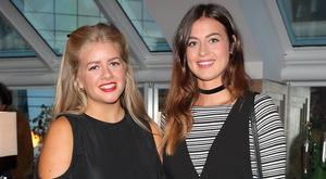 Kat Pamayotopoulos and Kate Dean at the launch of the new Conrad Dublin in Earlsfort Terrace. Picture: Brian McEvoy