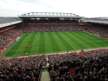 The club is now looking to increase the ground's capacity to near 60,000 as part of the second stage of its proposed redevelopment plans. Getty