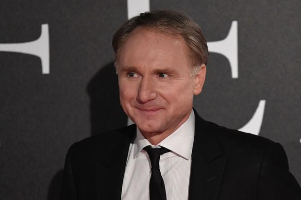 Author Dan Brown attends the world premiere of the movie