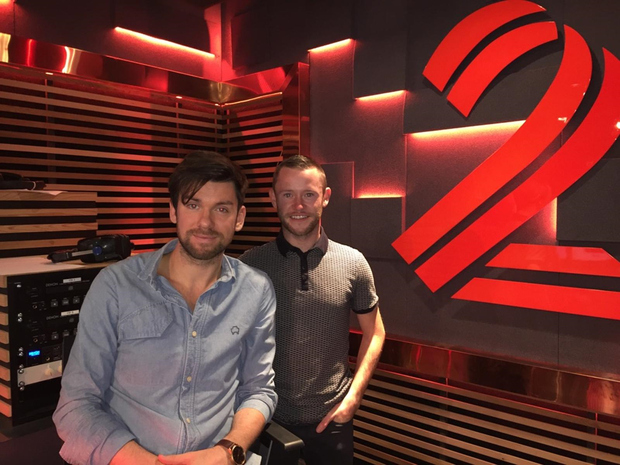 Devon Murray and Eoghan McDermott