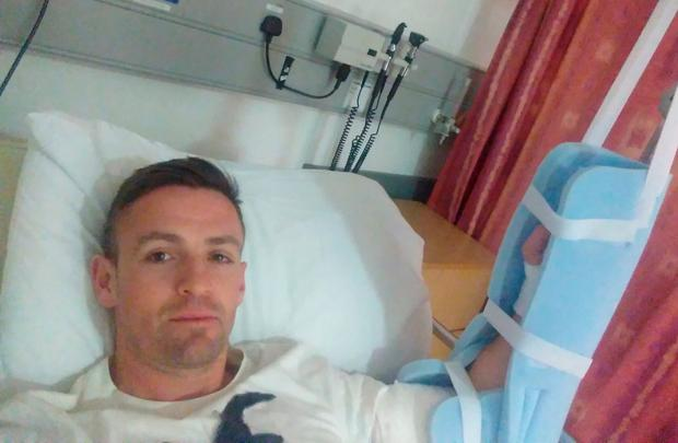 The retirement of Finn Harps star Kevin McHugh was accelerated by a gruesome injury to his finger which doctors were unable to save. The striker tweeted both pictures last week