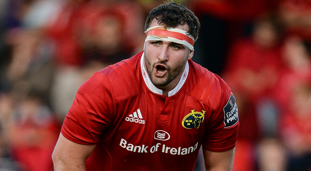 Munster's James Cronin Photo by Seb Daly/Sportsfile