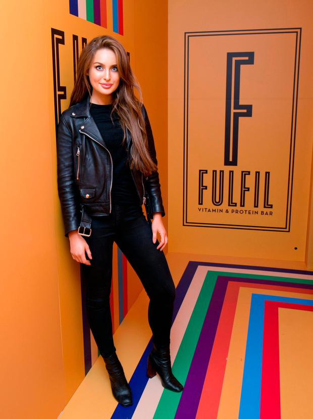 Roz Purcell as Fulfil launches four new Fan-Created Flavours & celebrates with a Unique Pop-Up Shop in Dublin City Centre#FulfilPopUpFulfil. Picture: Marc O'Sullivan