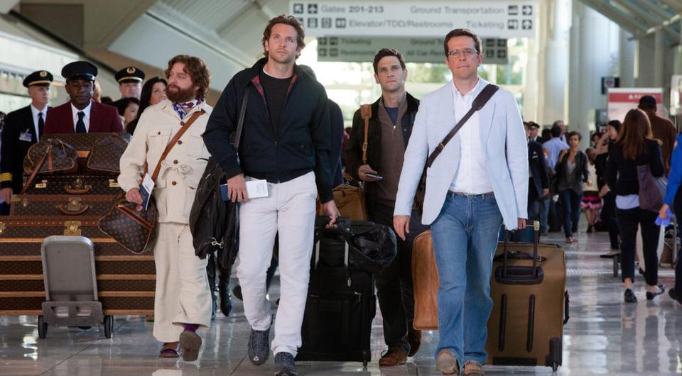 A scene from the film The Hangover